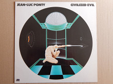 Jean-Luc Ponty ‎– Civilized Evil (Atlantic ‎– ATL 50744, Germany) NM/NM