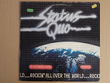 Status Quo ‎– Rockin' All Over The World (Vertigo ‎– 6360 156, Germany) EX+/EX+