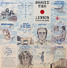 "John Lennon ""Shaved Fish"" - LP - (Mint-/Mint-)."