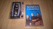 Genesis. ЕХ Phil Collins (Collection) 1970-74. (MC). Кассета. Euro Star. Poland.