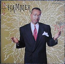 MC Hammer ‎ (Pray) 1990. (LP). 12. Vinyl. Пластинка. Germany.