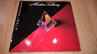 Modern Talking ‎Brother Louie. Special Long Version) 1986. (LP). 12. Vinyl. Пластинка. Germany.