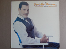 Freddie Mercury ‎– The Freddie Mercury Album (Parlophone ‎– 7 80999 1, Greece) insert NM-/EX++