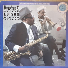 "Пластинка Ben Webster & ""Sweets"" Edison – Ben And ""Sweets""."