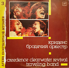 "Creedance ""Clearwater revival traveling band"""