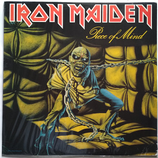 Пластинка Iron Maiden - Piece of Mind (1983, Capitol Rec ST 12274, USA)