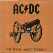 "AC/DC  ""For Those About To Rock (We Salute You)"" - LP."