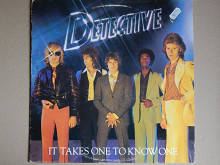 Detective ‎– It Takes One To Know One (Swan Song ‎– 59406, France) insert EX/EX+