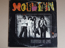 Mountain ‎– Flowers Of Evil (Windfall Records ‎– 5501, US) EX/EX+