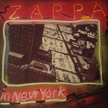Frank Zappa ‎– Zappa In New York