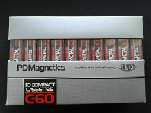 PDMagnetics (Philips) 1100 Metal C-60 (10шт)