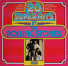 The Rolling Stones ‎– 20 Super Hits By The Rolling Stones (1978)(Decca ‎– 6.23502 made in Germany)