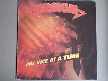 Krokus ‎– One Vice At A Time (Arista ‎– SPART 1189, UK) insert EX+/NM-