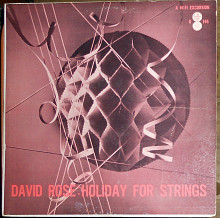 David Rose ‎– Holiday For Strings (1957)(Crowell-Collier Record Guild ‎– G 146 made in USA)