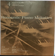 "Various ‎- Mood Music For Listening And Relaxation - 4 ""Romantic Piano Melodies"""