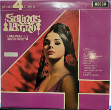 Edmundo Ros And His Orchestra - Strings Latino