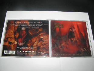 DEATH - The Sound Of Perseverance (1998 Nuclear Blast 1st press, Germany)