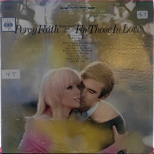 Percy Faith His Orchestra And Chorus - For Those In Love