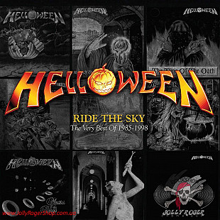 CD HELLOWEEN ‎– RIDE THE SKY - THE VERY BEST OF THE NOISE YEARS 1985-1998