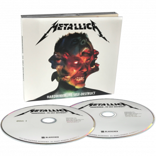 СD METALLICA – Hardwired…To Self-Destruct 2CD 2016 /BLACKENED