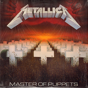 CD METALLICA – Master Of Puppets 1986 /ELEKTRA/ Made In U.S.A.