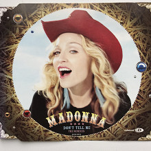 Madonna - Don't Tell Me (Single), Made in Thailand