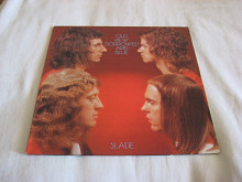 "Пластинка виниловая Slade "" Old New Borrowed and blue"" 1974 Germany"