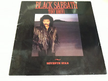 "BLACK SABBATH ""Seventh Star"" (Ger) 1st Press NM"