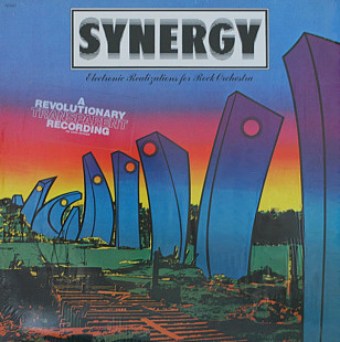 Synergy ‎– Electronic Realizations For Rock Orchestra