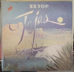 Пластинка ZZ Top ‎– Tejas (1981, Warner Bros. WB 56 605, Re, Germany)