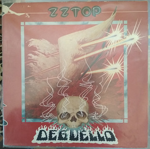 Пластинка ZZ Top ‎– Degüello (1979, Warner Bros. WB 56 701, Germany)