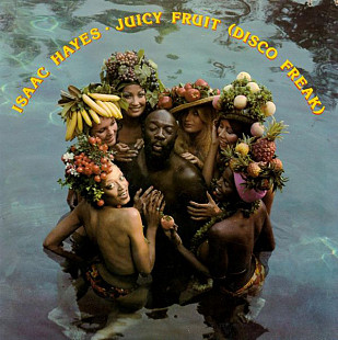 "Isaac Hayes  ""Juicy Fruit (Disco Freak)"" - LP - 1st press."
