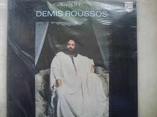DEMIS ROUSSOS HAPPY TO BE... ENGLAND