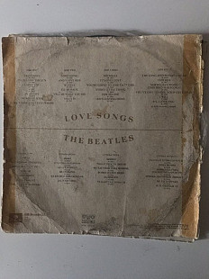 "THE BEATLES ""LOVE SONGS """