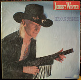 Виниловая пластинка Johnny Winter-1985 Serious Business (Tonpress).