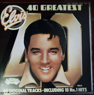 Elvis Presley ‎– 40 Greatest Hits UK 2LP