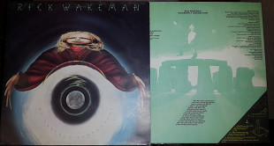 "Rick Wakeman ""No earhtly connection""UK LP"