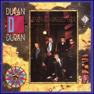 "Duran Duran ‎ ""Seven And The Ragged Tiger"" - 1983 - GEMA - NM/NM."
