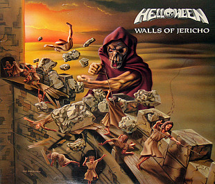 Helloween ‎ (Walls Of Jericho) 1985. (LP). 12. Vinyl. Пластинка. S/S. Europe.
