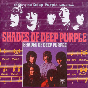 CD_Deep Purple - Shades Of Deep Purple /ЗАПЧТ/