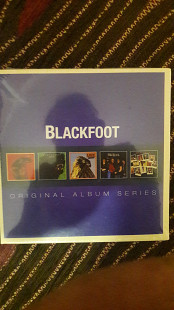 Cd Blackfoot original album series 5cd