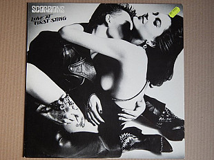 Scorpions ‎– Love At First Sting (Harvest ‎– 1C 064 2400071, Germany) insert NM-/NM-