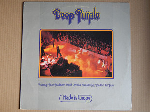 Deep Purple ‎– Made In Europe (Warner Bros. Records ‎– PR 2995, US) EX+/EX+