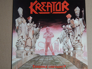 Kreator ‎– Terrible Certainty (Noise International ‎– NOISE 086, UK) NM/NM-