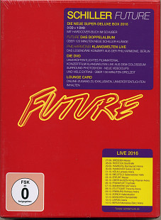 Schiller - Future (2016) (Limited Super Deluxe Edition) 3CD+dvd