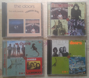The DOORS - 4 Диска , 8 альбомов , LA Woman, The Soft Parade, Morrison