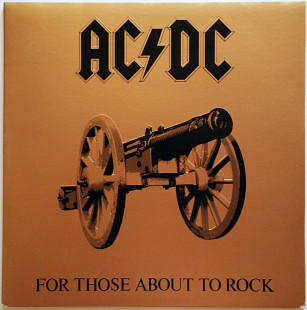 "AC/DC ""For Those About to Rock (We Salute You)"" US"