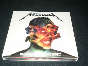 Metallica Hardwired to self destruct 2016 digipack 2 cd