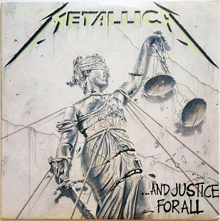 "Metallica ‎ ""...And Justice For All"" US"