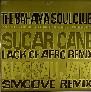 The Bahama Soul Club ‎- The Mighty British Series - Volume One LP